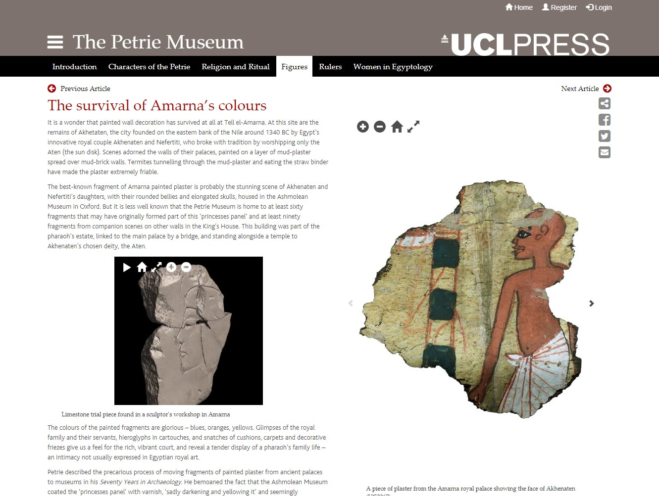 UCL Press 3D Objects