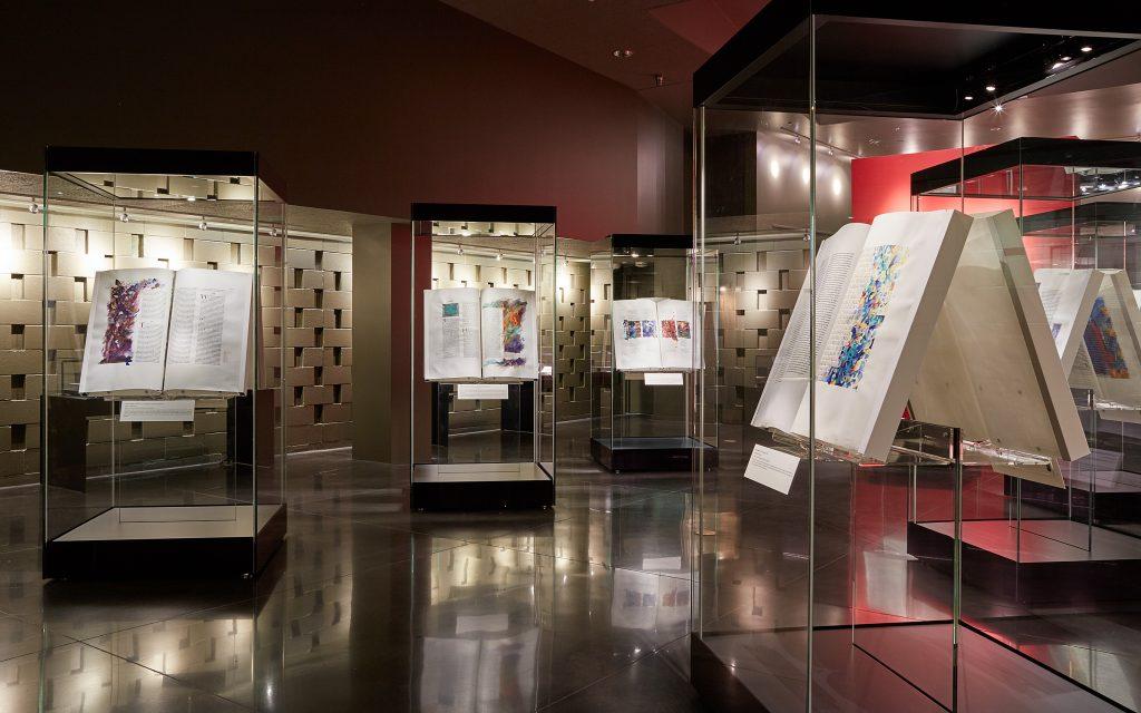 The Saint John's Bible Gallery, Hill Museum & Manuscript Library, Saint John's University, Minnesota, USA