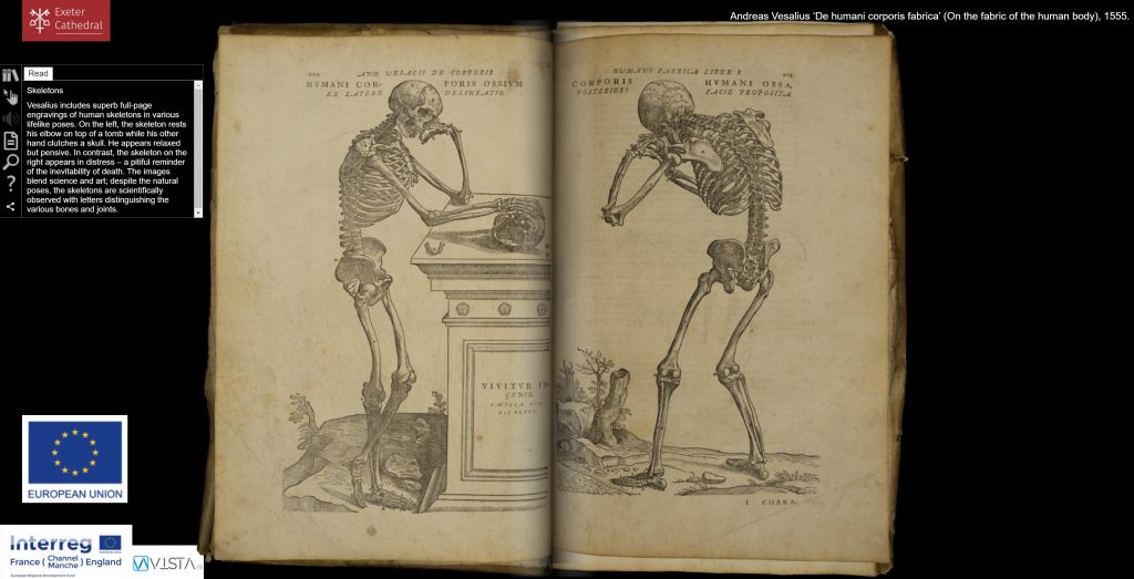 Andreas Vesalius 'De humani corporis fabrica'